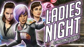 These ladies help Han and Chewie blitz the meta! | Star Wars: Galaxy of Heroes