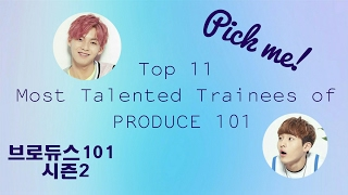 Video Top 11 most talented trainees of Produce 101 Season 2 download MP3, 3GP, MP4, WEBM, AVI, FLV Desember 2017