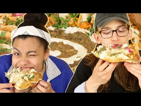 Thumbnail: Pizza Lovers Try A Taco Pizza