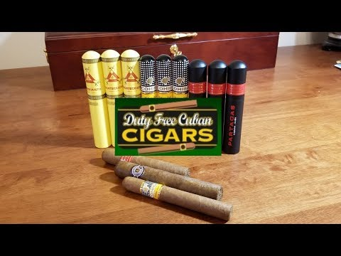 Duty Free Cuban Cigars - Review
