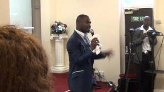 Pastor Sandile Mlambo ( in London ,UK, God is collecting the broken pieces )