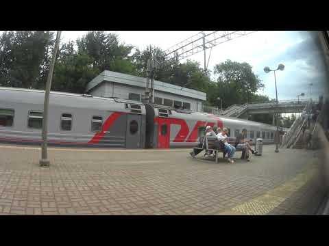 Казанский вокзал-Красково (из окна электропоезда)