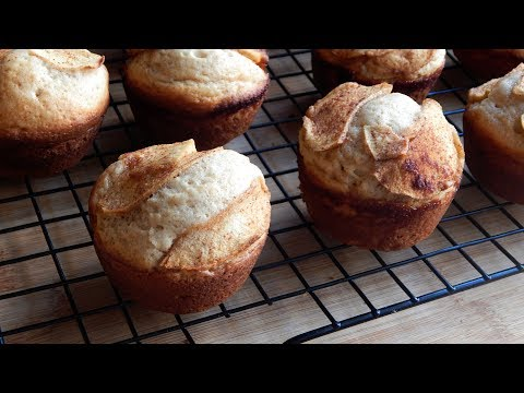 Apple Cinnamon Topped Muffins Recipe | The Sweetest Journey