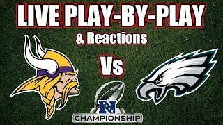 Vikings vs eagles | live play-by-play & reactions
