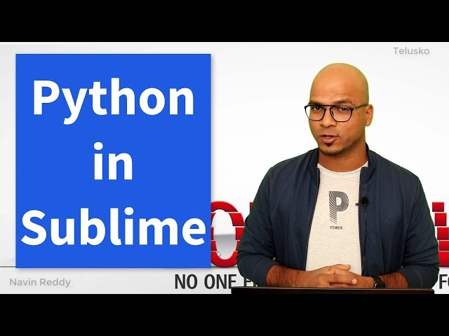 #8 Python Tutorial for Beginners | Python Editor | Sublime Text