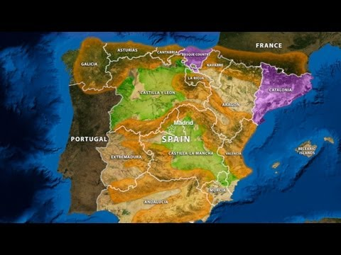 Spain's Geographic Challenge