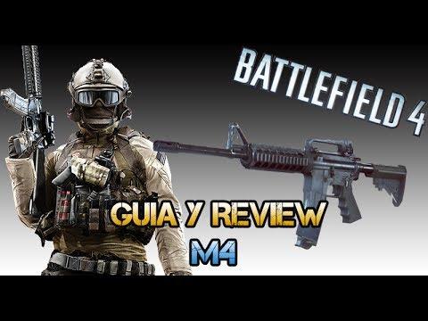 Battlefield 4: M4 - La mejor carabina? - Guia y Review - (Gameplay/Comentario)