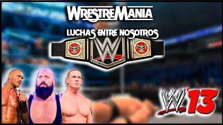WWE 13 | Ep.- 1| ¿COMO SE JUEGA??
