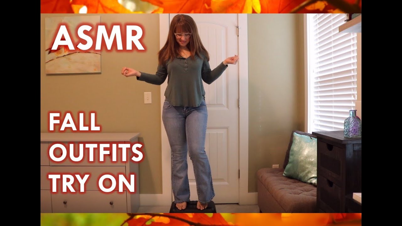 [VIDEO] - ASMR - Fall outfits try on 4