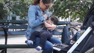 Ya no me da pena amantar a mi bebe en la calle | De paseo en Nueva York