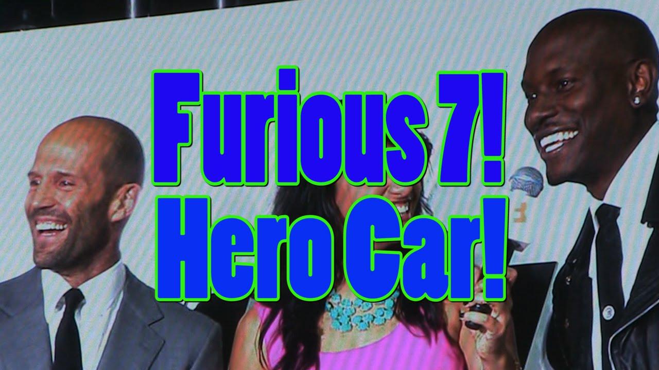 Fast And Furious 7 Hero Car. 2000 HP Maximus! Nelson
