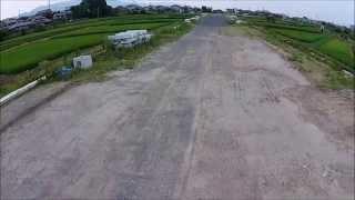 【工事現場シリーズ】都市計画道路3・4・21号本堅田真野線改良事業(造成中) DJI drone
