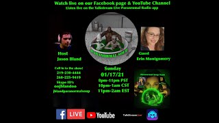 Paranormal Soup Ep 255 guest Erin Montgomery