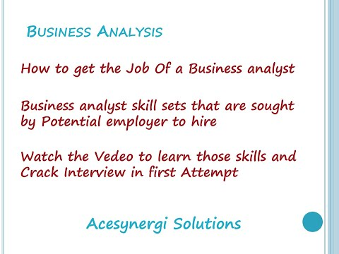 Business analyst role in plan and agile driven approaches and skills needed