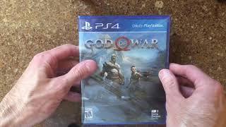 God of War PS4 Unboxing