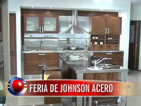 Viernes 03 feria de johnson acero wmv hd 720 youtube for Muebles de cocina johnson
