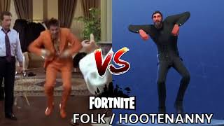 [DANCE] FOLK / HOOTENANNY | IN REAL LIFE ► FORTNITE