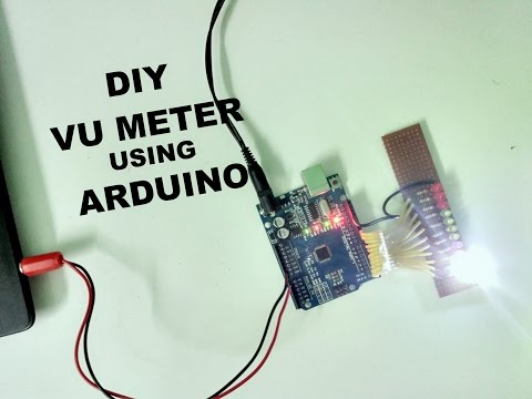 How to make sound reactive LEDs using Arduino [ VU Meter ]