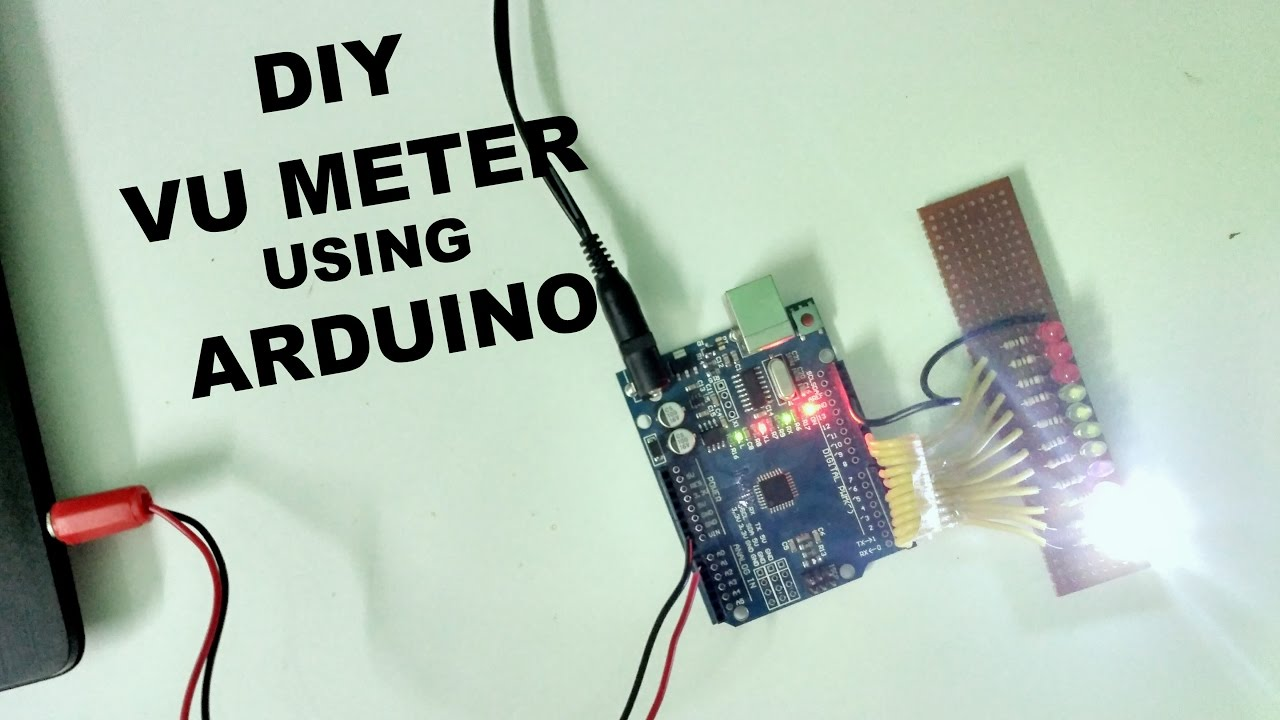 How To Make Sound Reactive Leds Using Arduino Vu Meter Led Amplifiers Http Wwwinstructablescom Id Ledstrip