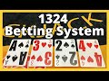 Stearn Betting System for Blackjack