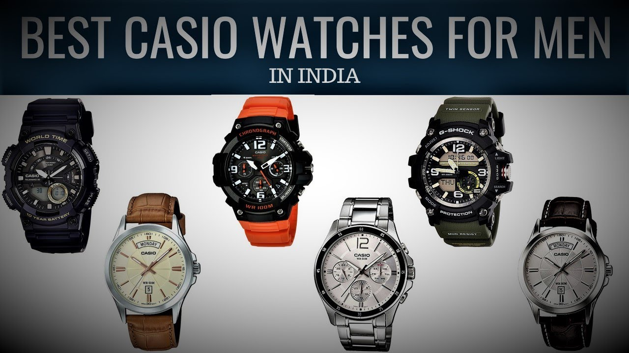 10 Best Casio Watches For Men In India With Price Luxury Yet