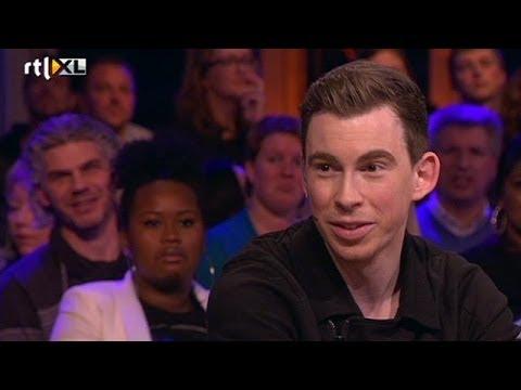 Dj Hardwell geniet van elk moment - RTL LATE NIGHT