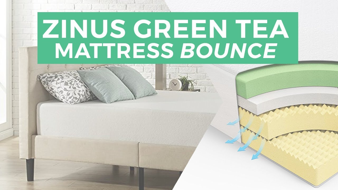 zinus memory foam green tea mattress review | the sleep sherpa
