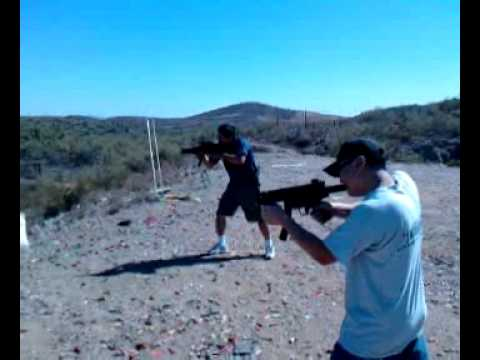 Testing Bellator Armaments SP89k clone in Full Auto (III)