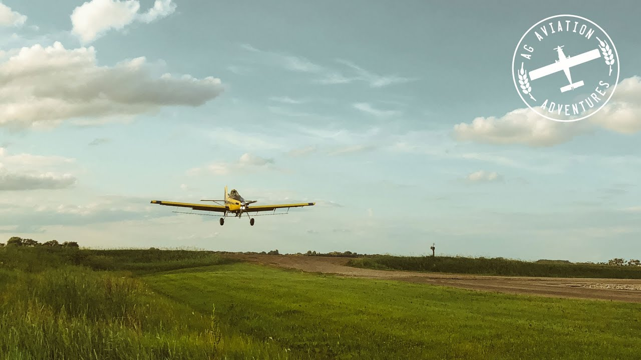 Typical Length of a Load for a Crop Duster