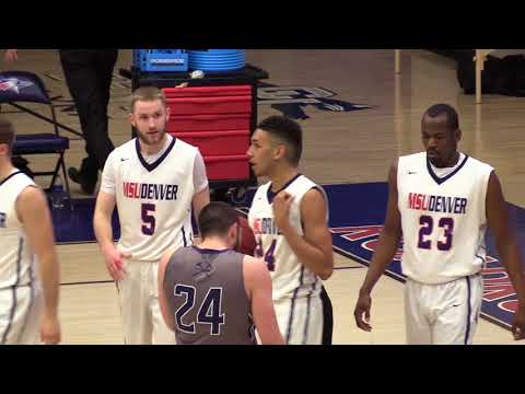 Men's Basketball vs Colorado Mines - MSU Denver