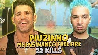 PIUZINHO ME ENSINANDO FREE FIRE - 22 KILLS thumbnail