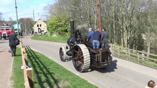Steam Traction Engines At Beamish GNSF 2017