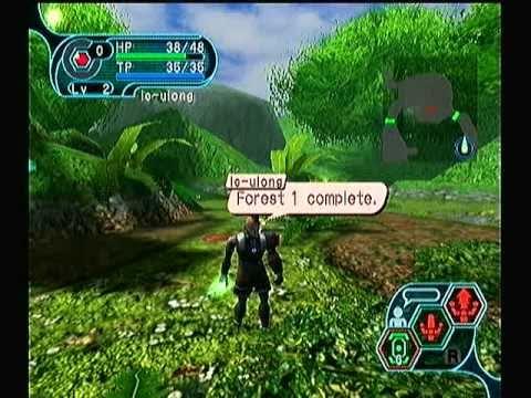 Phantasy Star Online GC Gameplay/Walkthorugh