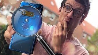 Ein durchsichtiges Handy OHNE Knöpfe! - HTC U12+ - Review