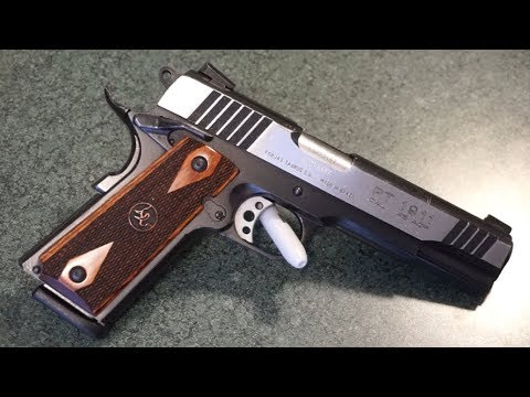 Taurus PT1911 .45acp tabletop review and range test!