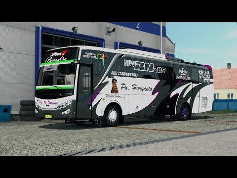 "ETS2 Indonesia -  Long trip with Haryanto ""Paradise"" (Hino-RN285)"