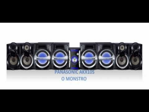 Novo Mini System Panasonic Akx105 2160 Watts Rms Youtube