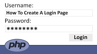 How to Create a Login Page in PHP