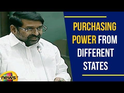 Guntakandla Jagadish Reddy Speaks About Purchasing Power From Different States   Mango News