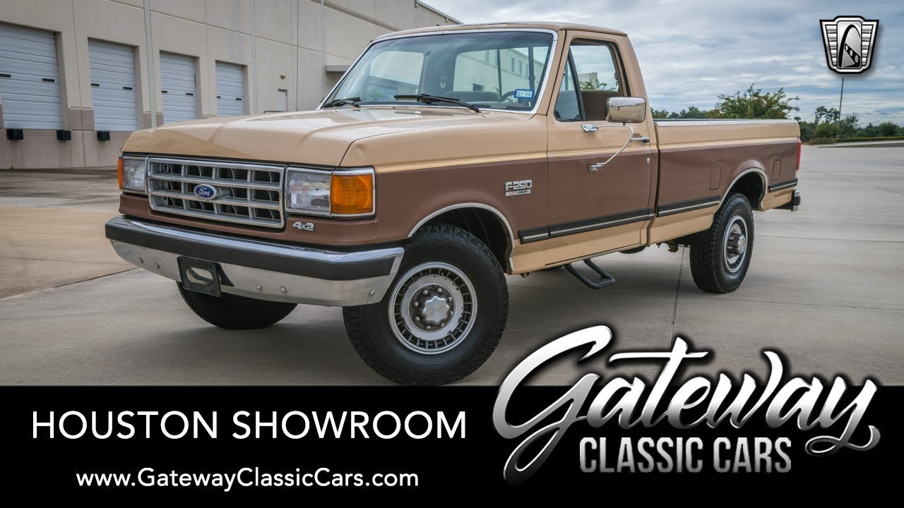 1987 Ford F250 >> 1987 Ford F250 Gateway Classic Cars Houston 1627