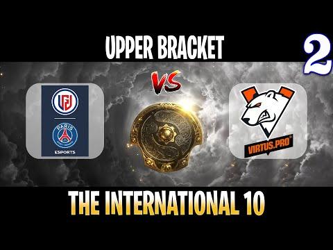 PSG LGD vs VP Game 2   Bo3   Upper Bracket The International 10 2021 TI10   DOTA
