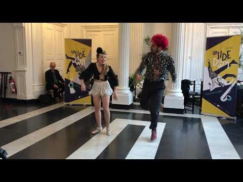 Vassia Panagiotou & Aurelien Darbellay performing @Upside Down 2019