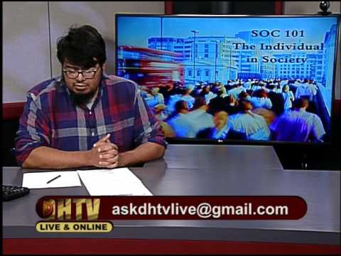SOC101 The Individual in Society #08 Fall 2016