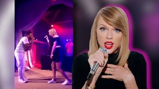 Taylor Swift Performs with Nelly at Karlie Kloss' Birthday Party! (VIDEO)