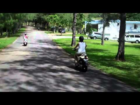 Scooter Ride Through Guam