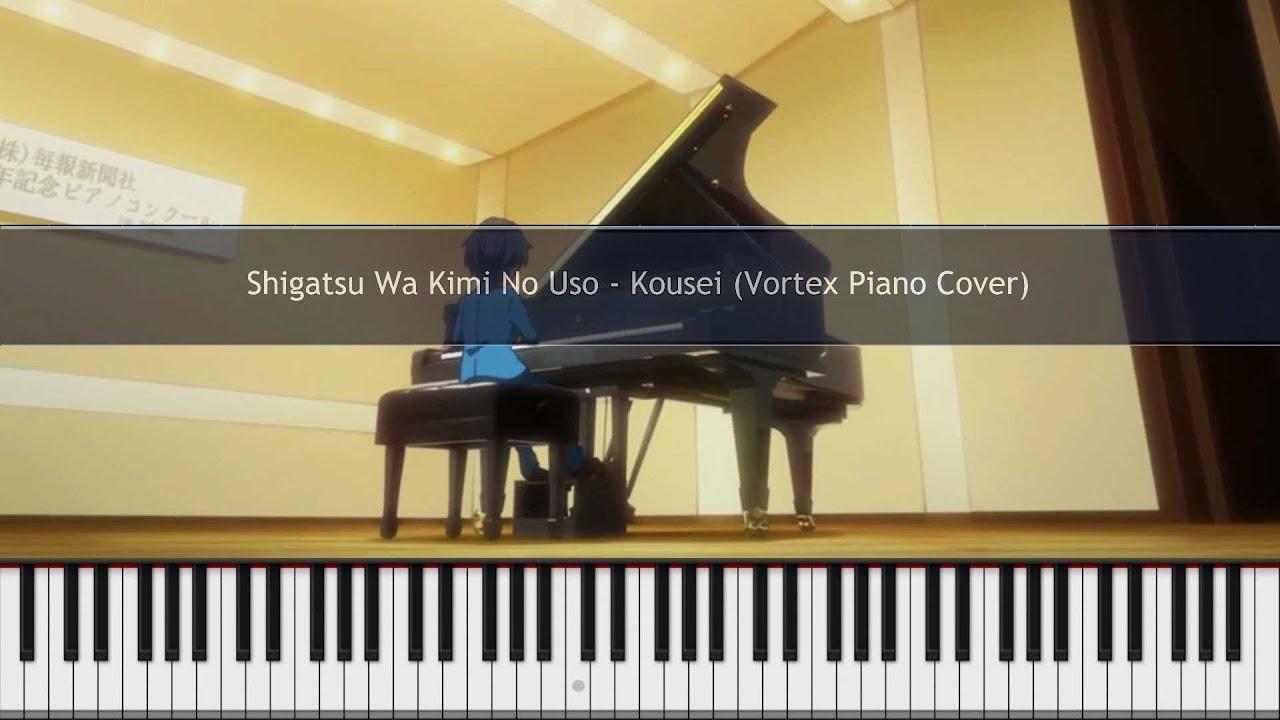 Your Lie In April Quotes Wallpaper Shigatsu Wa Kimi No Uso Watashi No Uso Piano Solo Ep 1