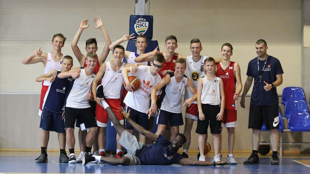 BasketNews.lt vasaros krepšinio stovykloje – galimybė augti ir tobulėti