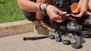 Переноска для роликовых коньков. В чём носить ролики. Революционный метод(, 2013-10-14T08:56:49.000Z)