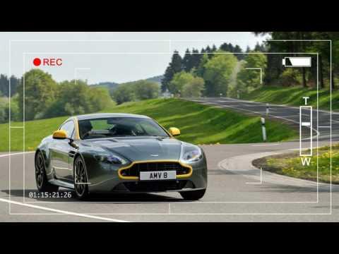 HOT Aston Martin V8 Vantage GT First Drive