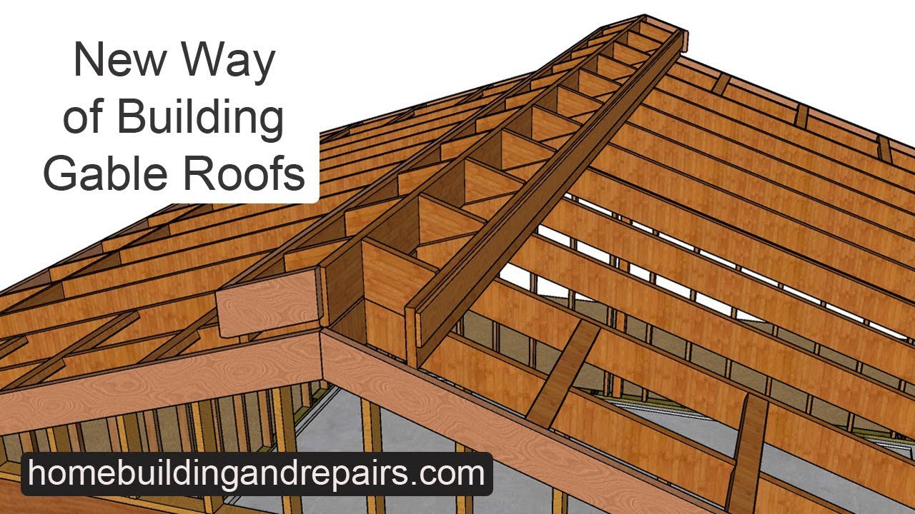Have You Ever Seen This Gable Roof Scissor Rafter